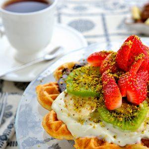 Çikolata Klasik Waffle