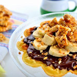 Krokan Waffle