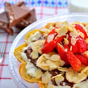 Toblerone Waffle
