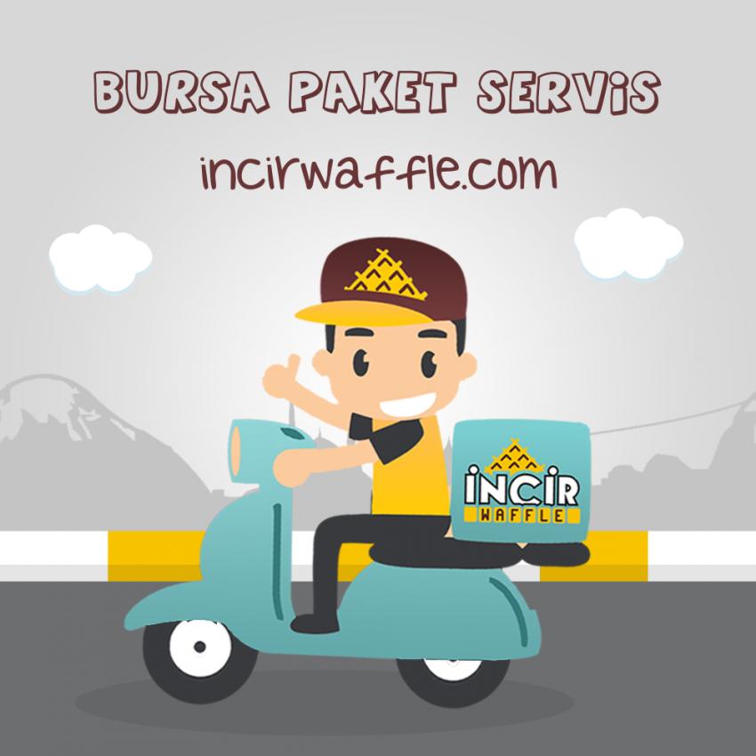 Bursa Waffle Paket Servis Hizmeti Başladı & İncir Waffle